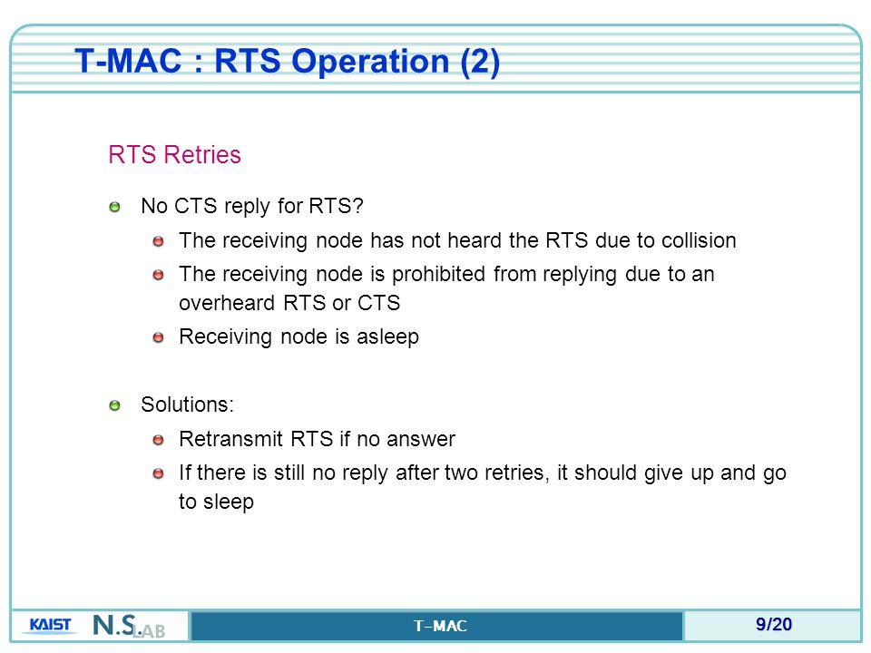 T-MAC : RTS Operation (2)