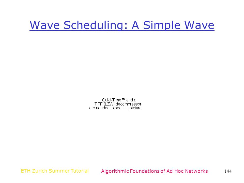 Wave Scheduling: A Simple Wave