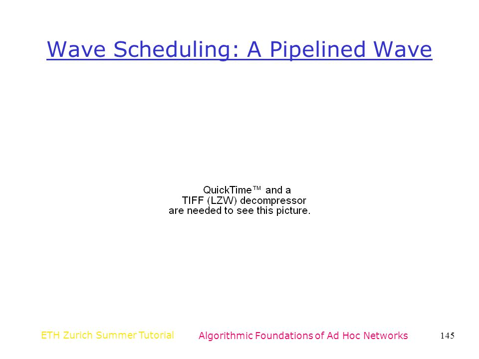 Wave Scheduling: A Pipelined Wave