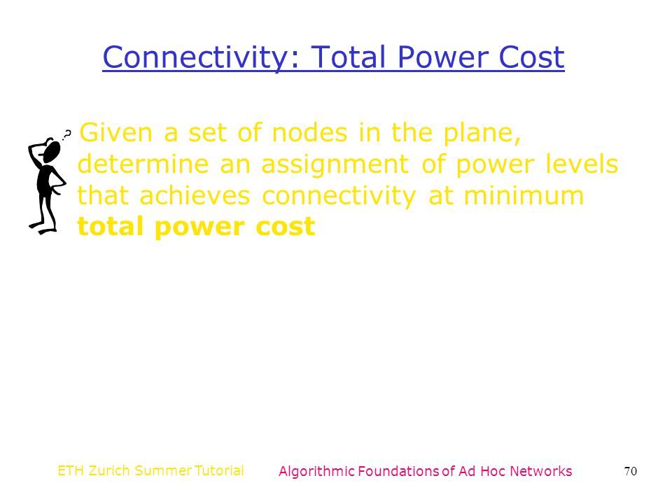 Connectivity: Total Power Cost