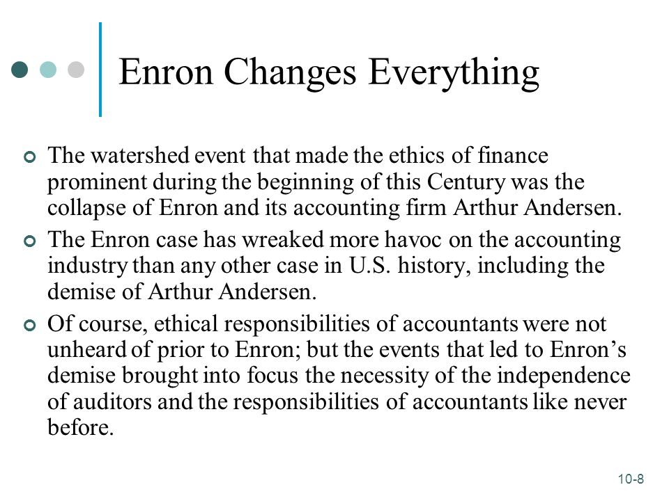 enron s demise Even for a city as confident and forward-looking as houston, the demise of enron corp will deliver a painful blow to the local economy, civic pride and its roster of good corporate citizensenron.