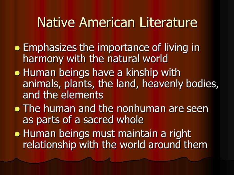 Native American Literature