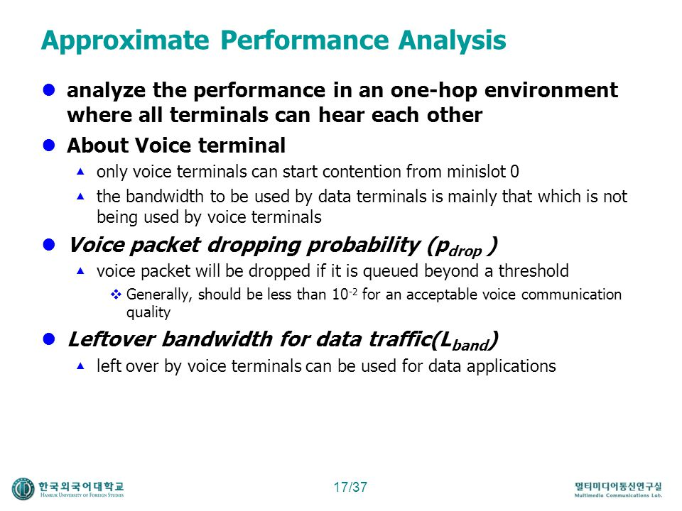Approximate Performance Analysis