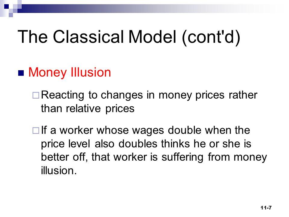 The Classical Model (cont d)