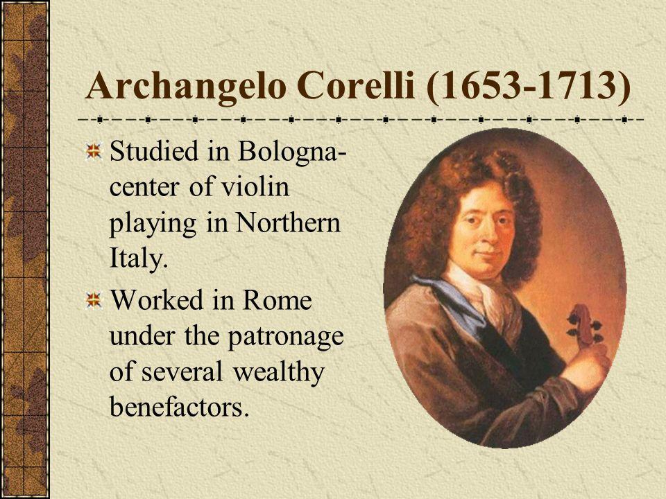 Archangelo Corelli (1653-1713)