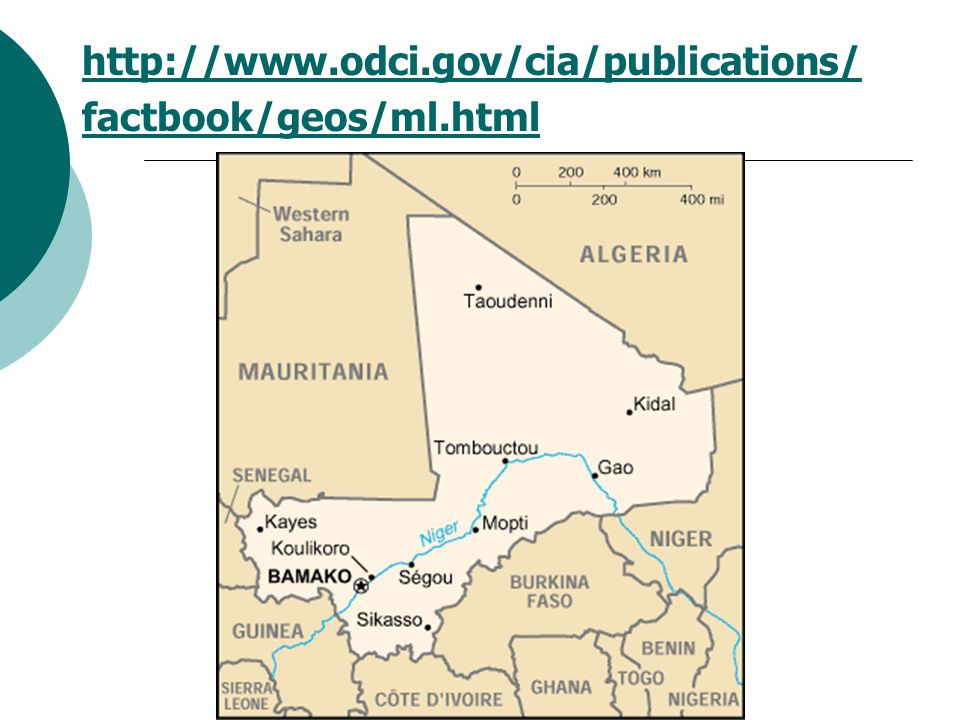 http://www.odci.gov/cia/publications/ factbook/geos/ml.html