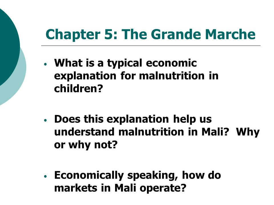 Chapter 5: The Grande Marche
