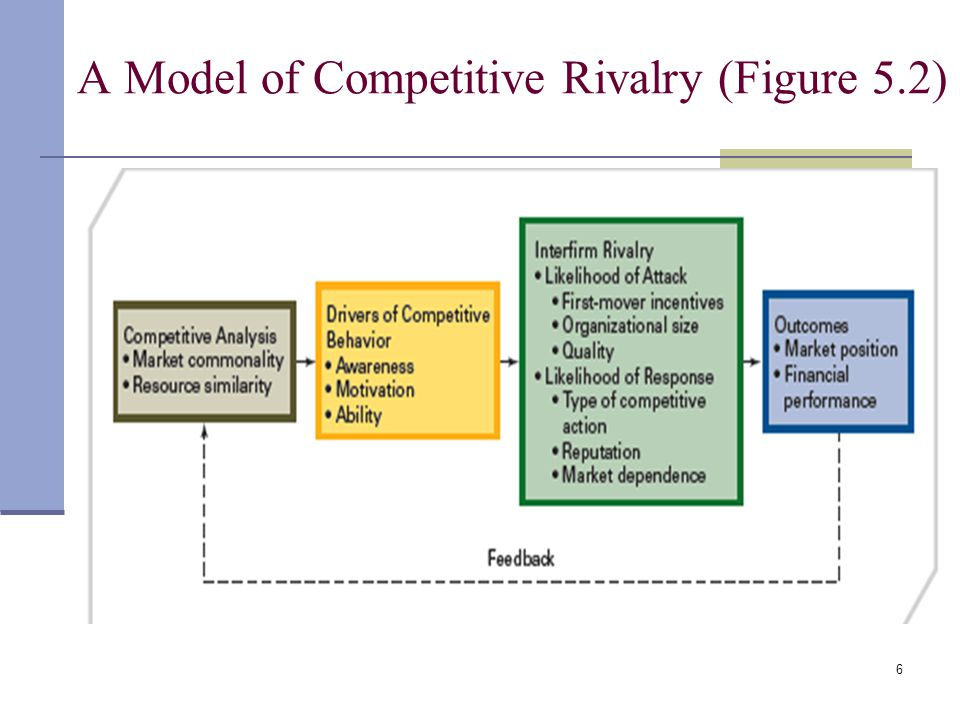 A Model of Competitive Rivalry (Figure 5.2)