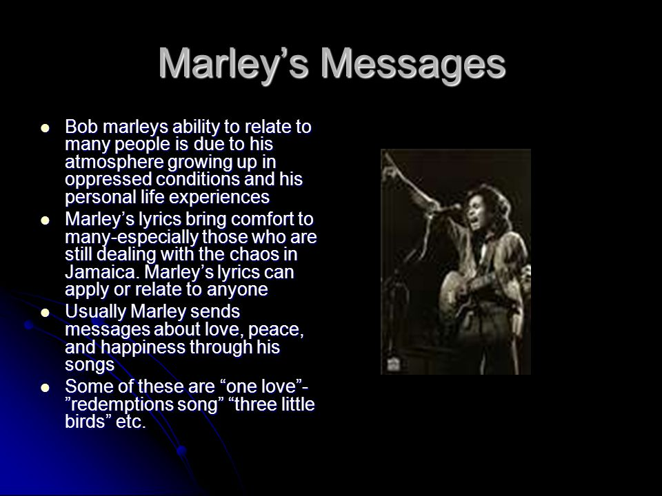 Marley's Messages