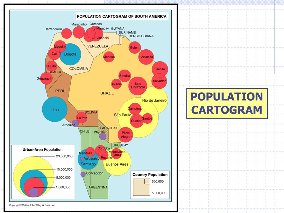 POPULATION CARTOGRAM
