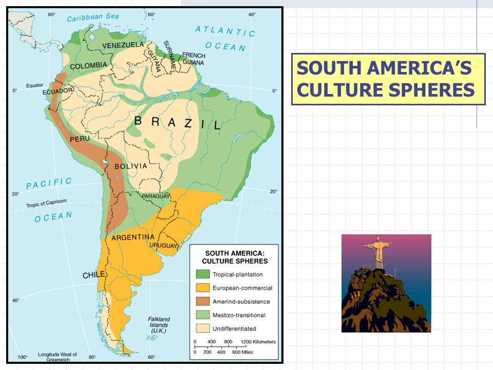 SOUTH AMERICA'S CULTURE SPHERES