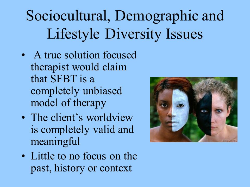 Sociocultural, Demographic and Lifestyle Diversity Issues