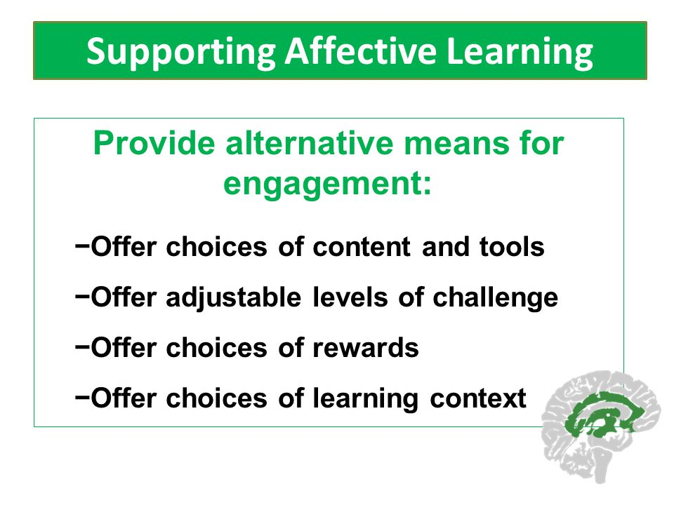 Supporting Affective Learning