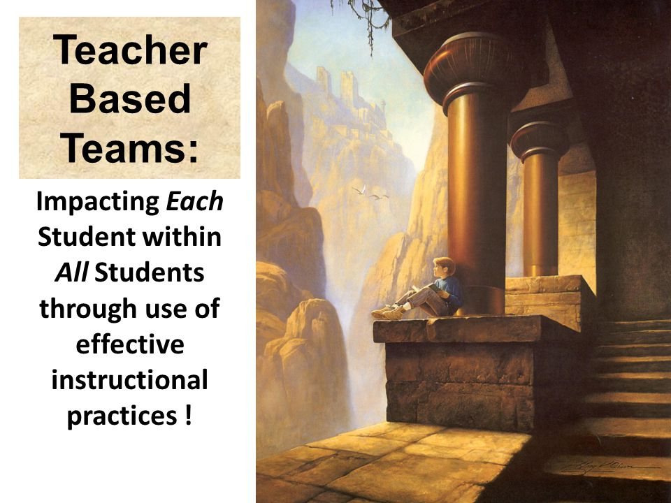 Teacher Based Teams: Impacting Each Student within All Students