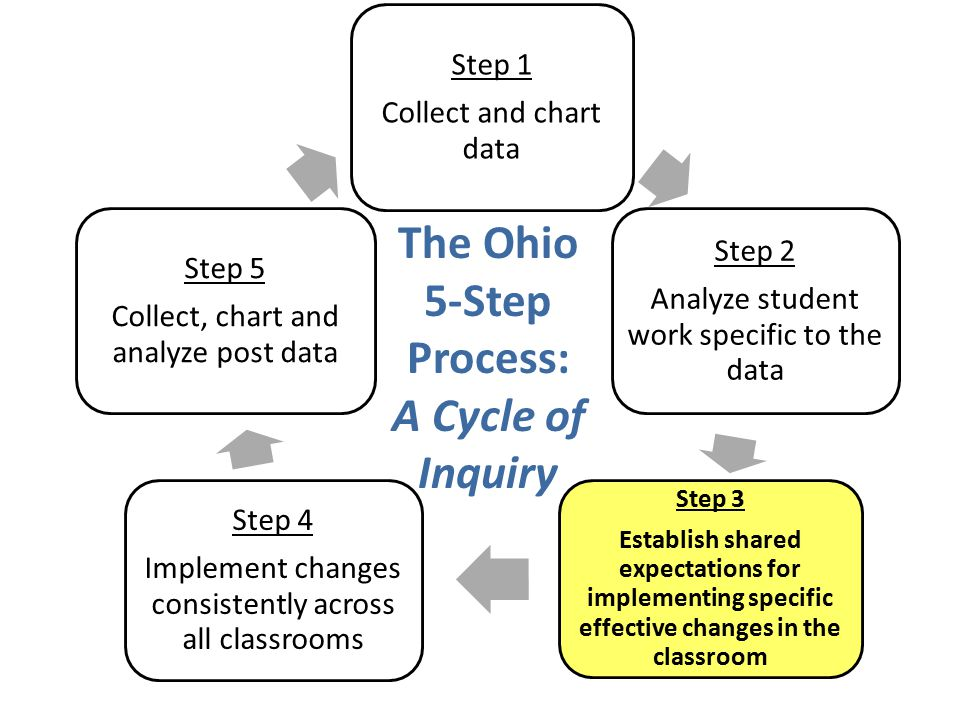 The Ohio 5-Step Process: A Cycle of Inquiry