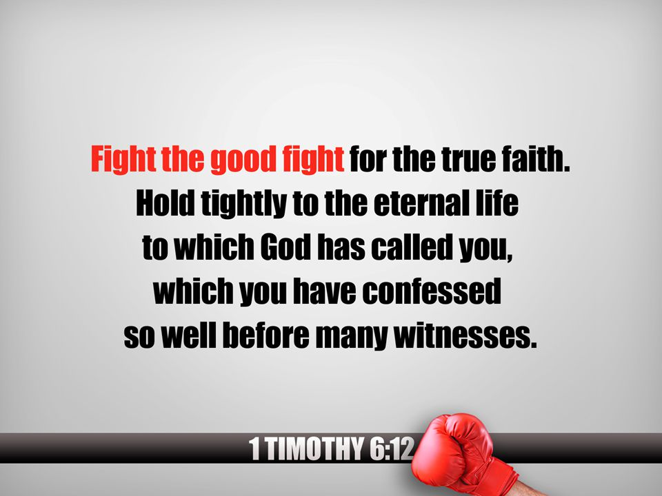 In 2 Timothy 4:8 we find out that because Paul kept the faith and fought the good fight that he