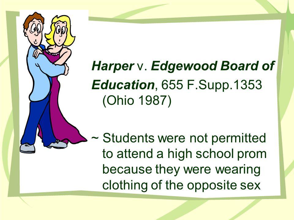 Harper v. Edgewood Board of Education, 655 F.Supp.1353 (Ohio 1987)