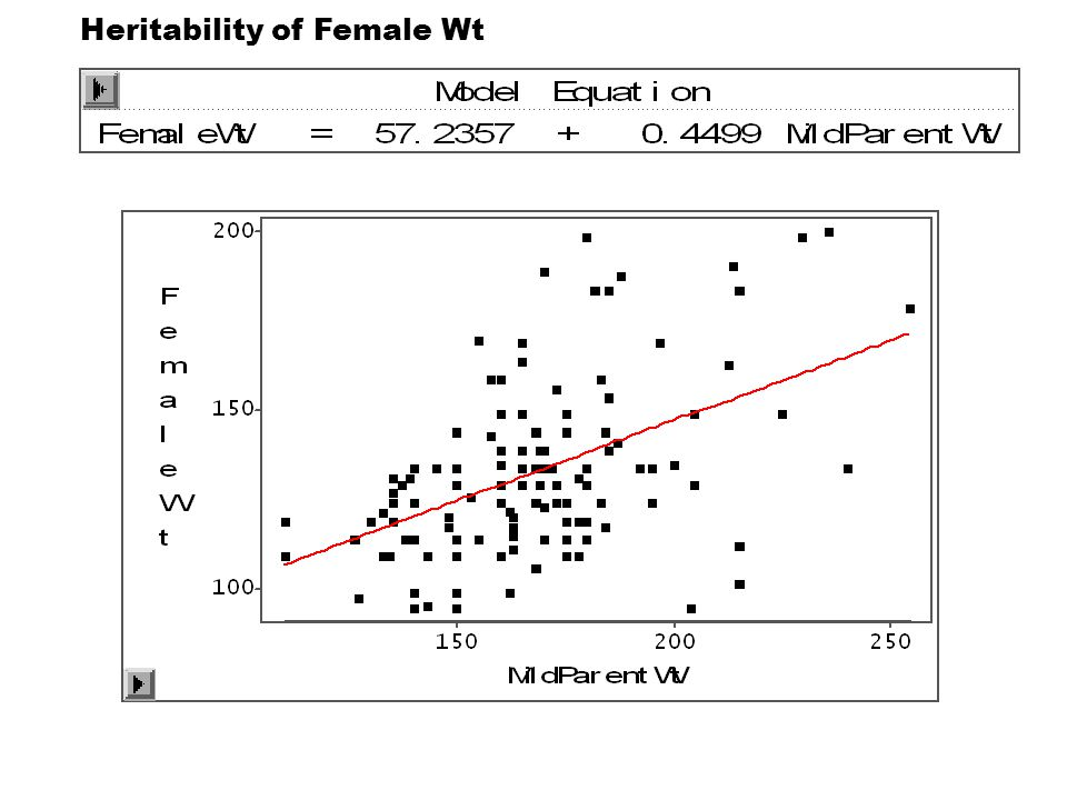 Heritability of Female Wt