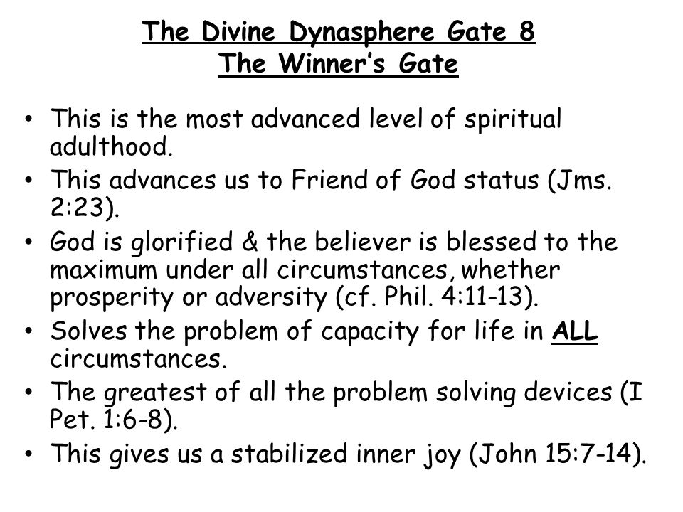 The Divine Dynasphere Gate 8