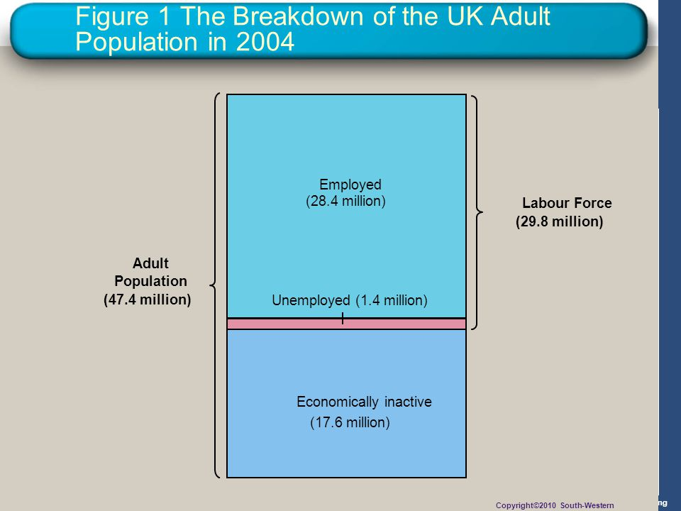 Figure 1 The Breakdown of the UK Adult Population in 2004