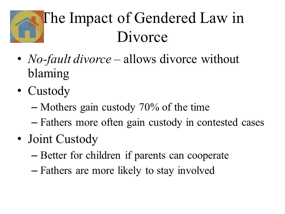 The Impact of Gendered Law in Divorce