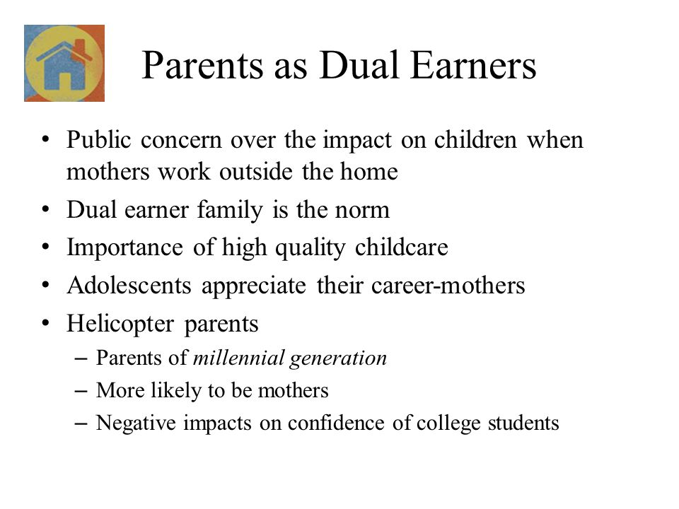 Parents as Dual Earners