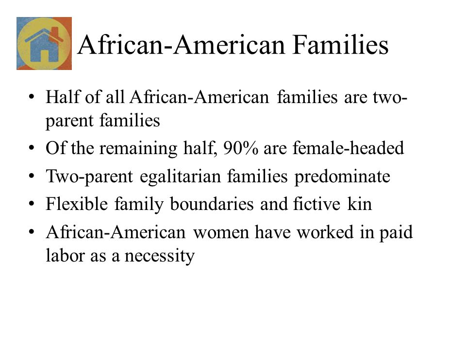 African-American Families