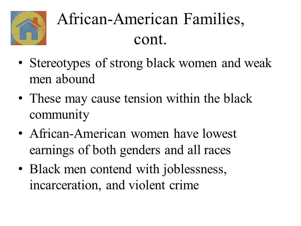 African-American Families, cont.