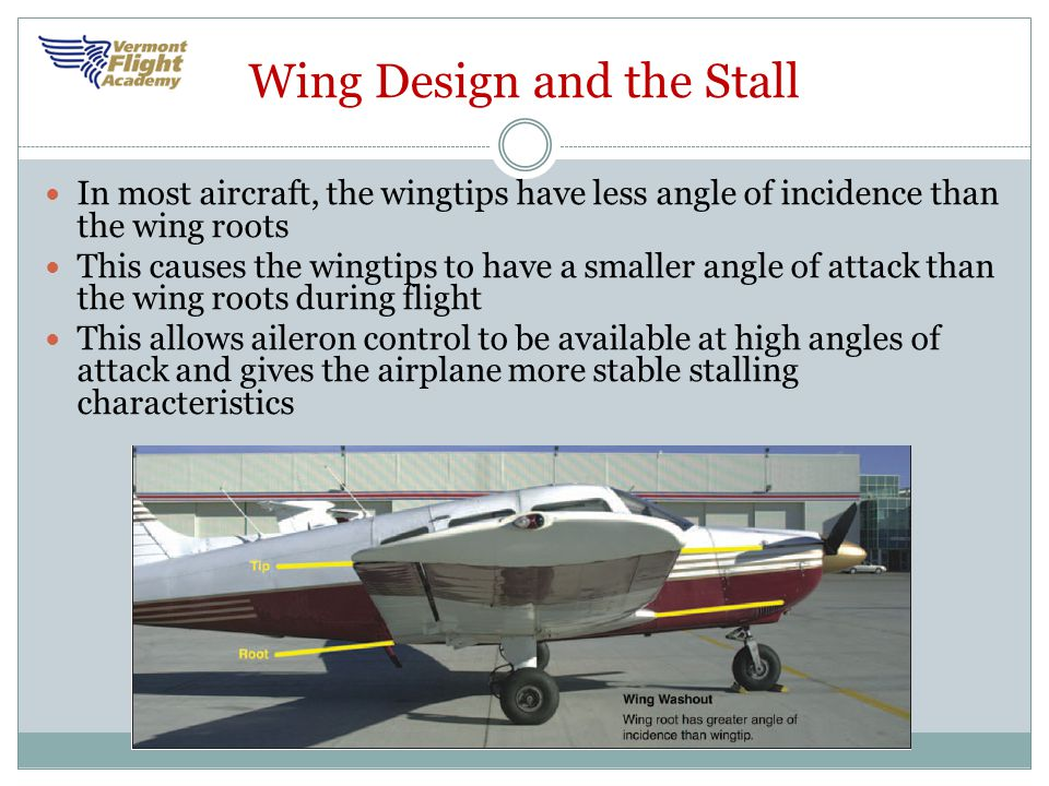 Wing Design and the Stall