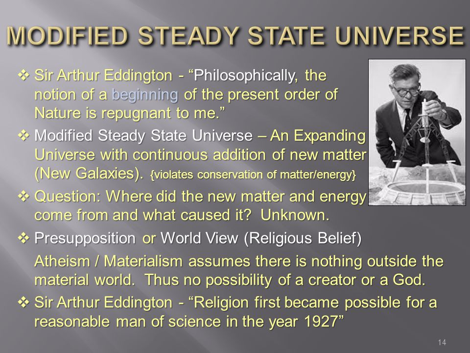 Modified Steady State universe