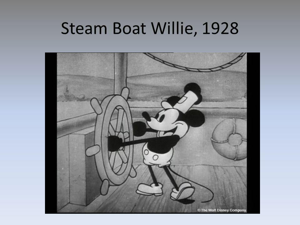 Steam Boat Willie, 1928