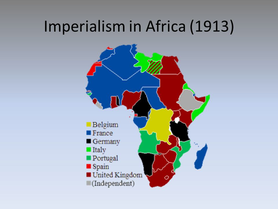 Imperialism in Africa (1913)