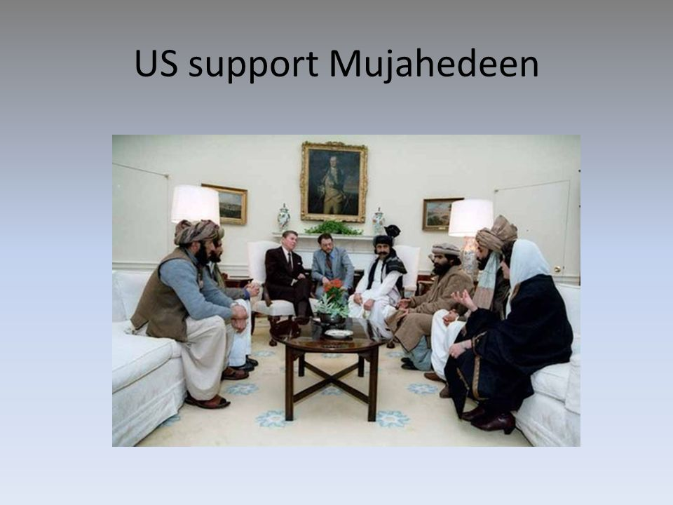 US support Mujahedeen