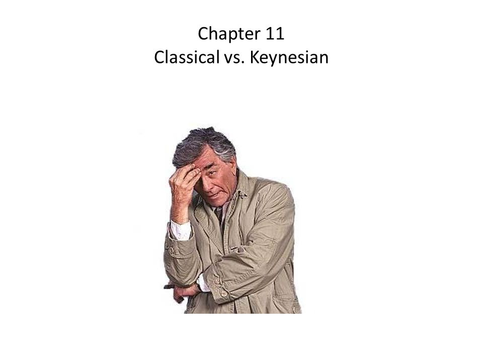 Chapter 11 Classical vs. Keynesian