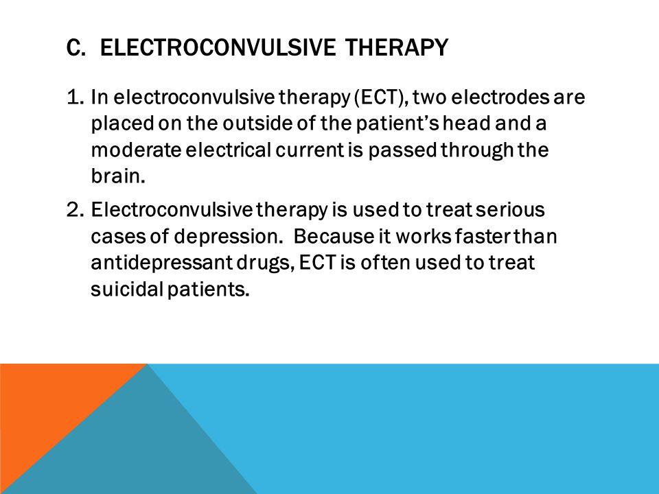 C. Electroconvulsive Therapy