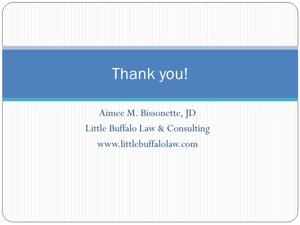 Little Buffalo Law & Consulting