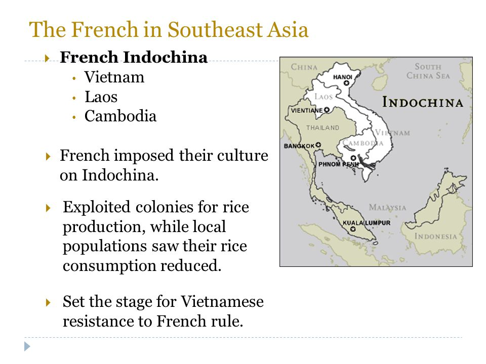 The French in Southeast Asia