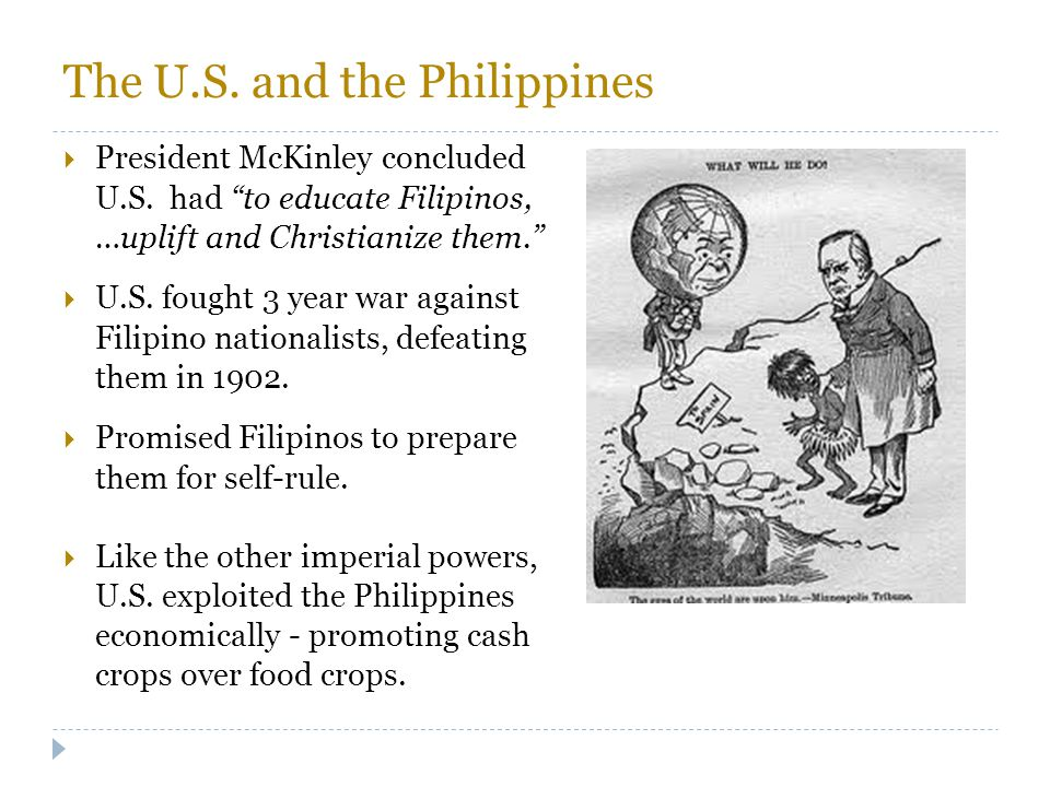The U.S. and the Philippines