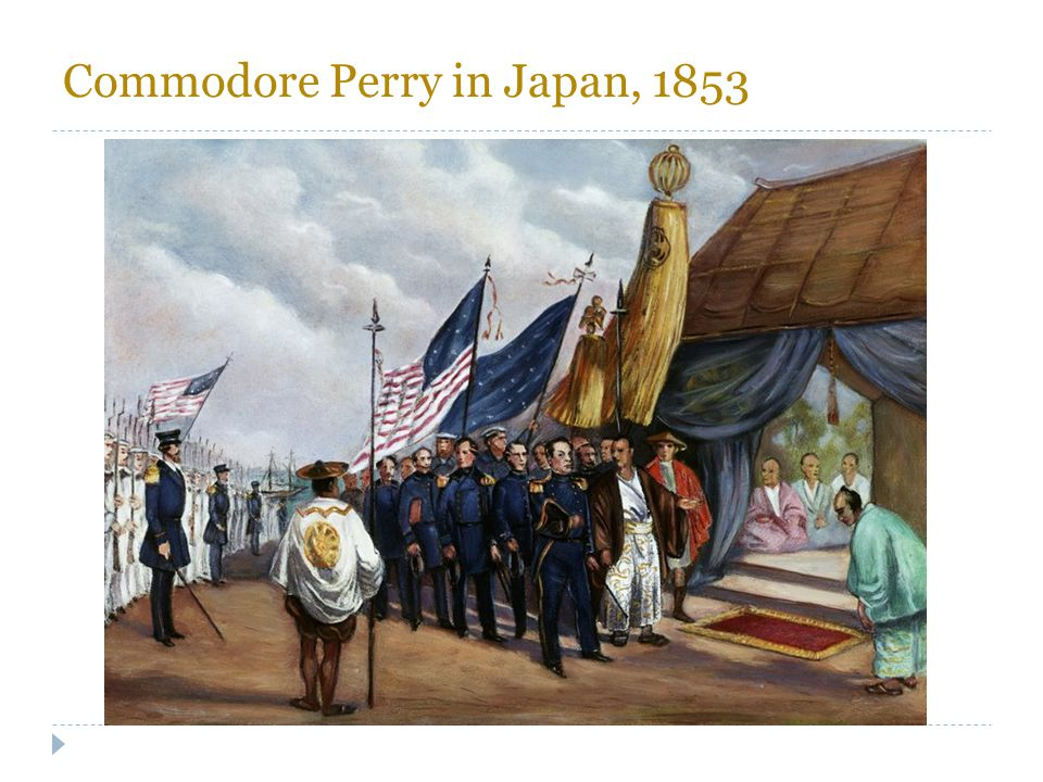 Commodore Perry in Japan, 1853
