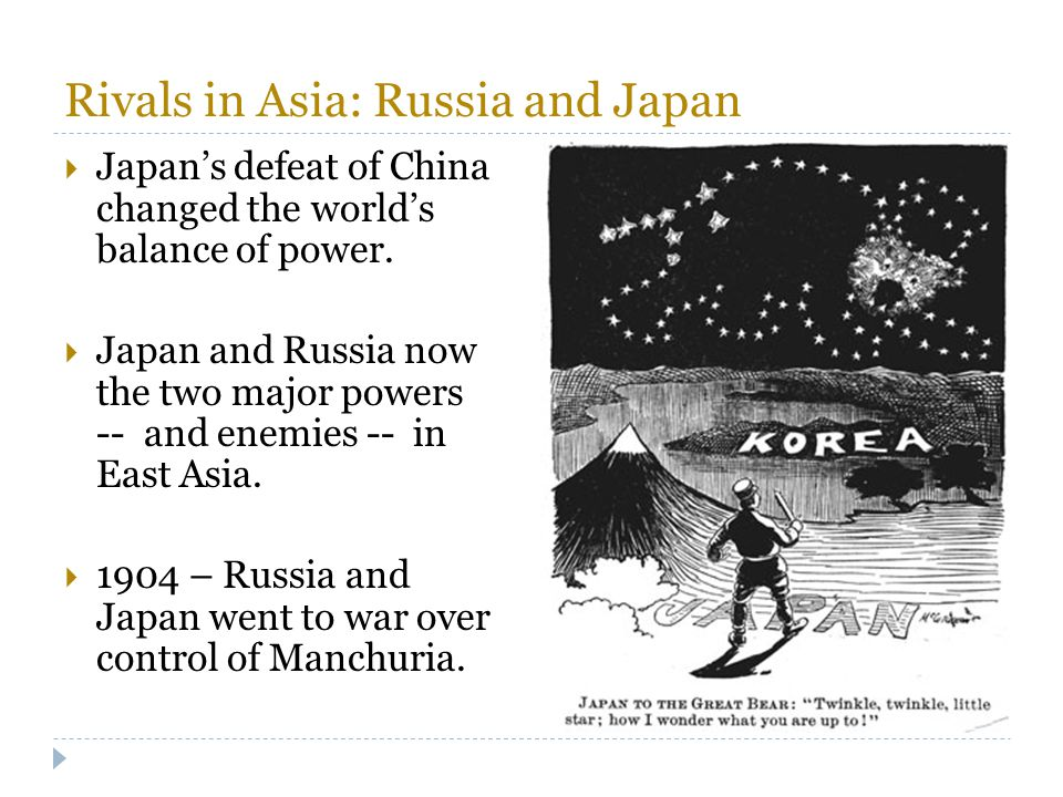 Rivals in Asia: Russia and Japan