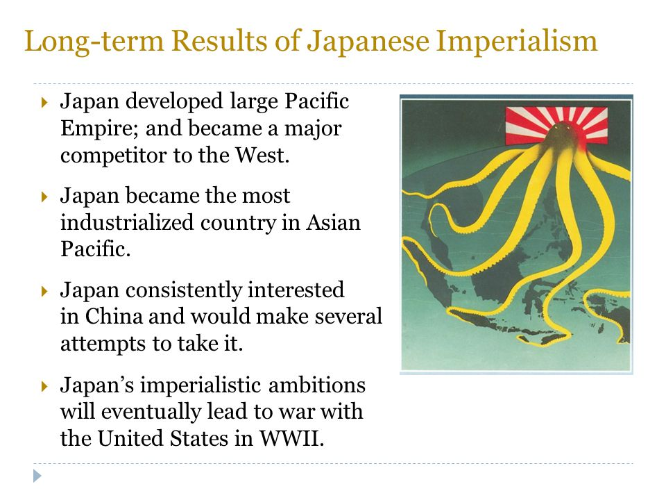 Long-term Results of Japanese Imperialism