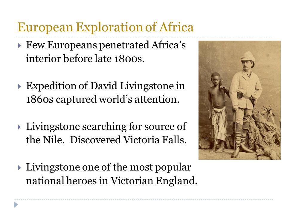 European Exploration of Africa