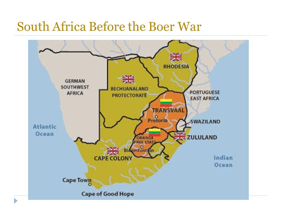 South Africa Before the Boer War