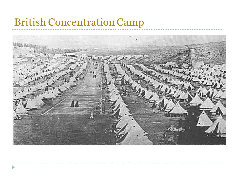 British Concentration Camp