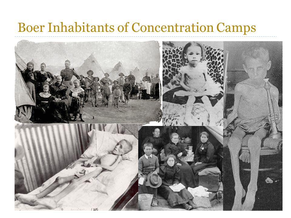 Boer Inhabitants of Concentration Camps