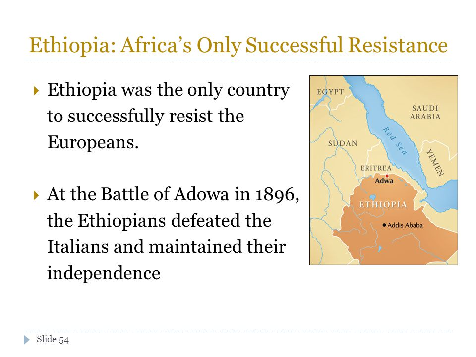Ethiopia: Africa's Only Successful Resistance