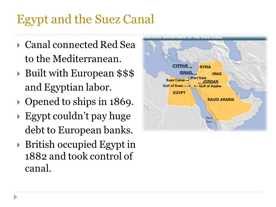 Egypt and the Suez Canal