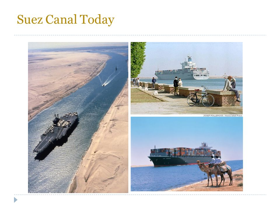 Suez Canal Today