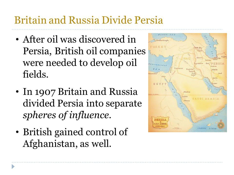 Britain and Russia Divide Persia