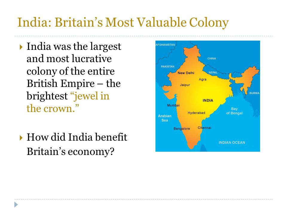India: Britain's Most Valuable Colony